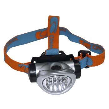 Lanterna Frontal 8 Leds Cilíndricos de 5mm Palanca