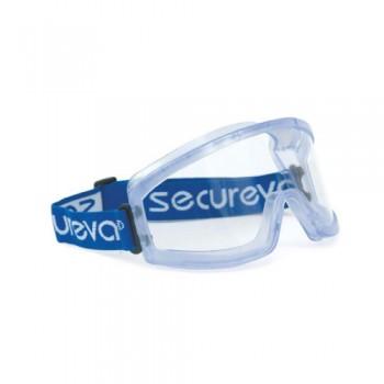 Óculos Panorâmicos Incolores Secureva EVA03 EN 166