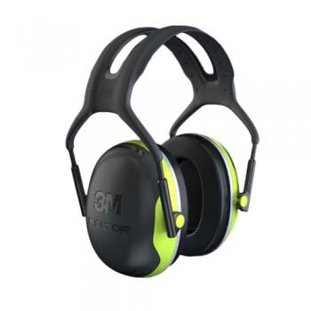 Protector Auricular T/Auscultador Cabeça 3M Peltor X4A SNR 33db