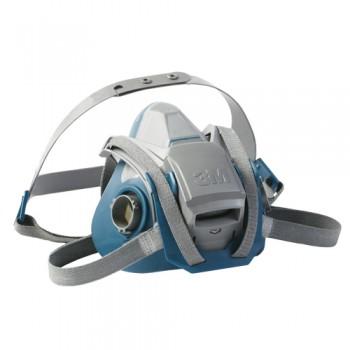Máscara Semi-Facial Duplo Filtro 3M 6502QL T. Médio EN 140