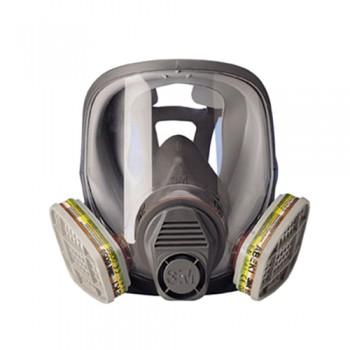 Máscara 3M 6800-S Medium Duplo Filtro