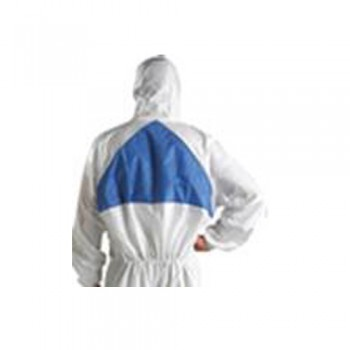 Fato de Protecção 3M 4540+ (Branco/Azul) Tipo 5/6