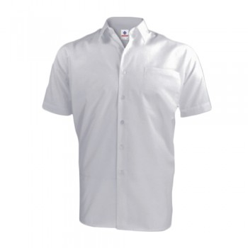 Camisa Básica Manga Curta P531 c/ Bolso 65% Poliést 35% Algodão