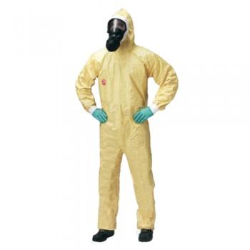 Fato Macaco Tychem C TYC CHA5T Amarelo Dupont Categoria III