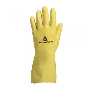 Luvas Látex Amarela Cert. Alimentar 30 cm Delta Plus VE200