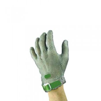 Luvas Malha Aço 5D Chainex nº1 (XS/6,5) Verde