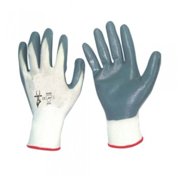 Luvas Nitrilo/Poliéster (Matrix F Grip) Cinzento N101 (4132) Palanca