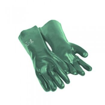 Luvas PVC 35 cm (HK35) Verde Palma Anti-Derrap P204 388:3121 Palanca