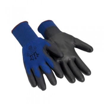 Luvas Nylon/Poliur. Azul/Preto 500 FINE (Matrix P) 388:2131