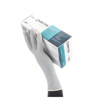 Luvas Látex s/ Pó TB LB53 Dermik (Emb. 100 un) EN 374 AQL1,5