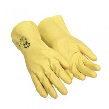 Luvas Látex Amarela Prot. Química 30 cm TB 9004 EN 388 + EN 374