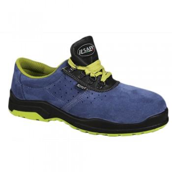 Sapatos Perfurados Azul Metal-Free BICAP H60527/4B K 2 S1P