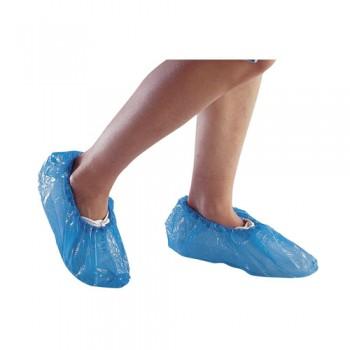 Cobre Sapatos Polietileno Azul (Saco 50 pares) DP SURCHPE