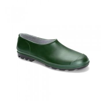 Sapato PVC Verde c/ Sola Preta ISO 20347