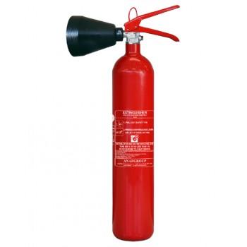 Extintor CO2 2kg Eficácia 34A CS2-AB ANAF