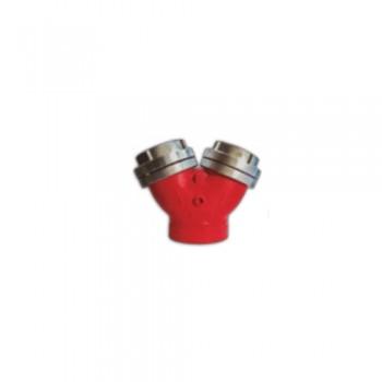 "Bifurcação 75x75 c/ Rosca 4"" Alumínio Ref. BIF100 BILI"