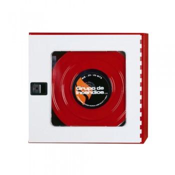 Boca Incêndio t/ Carretel Bie Plus Cx Vermelha 650x680x195 mm Bili