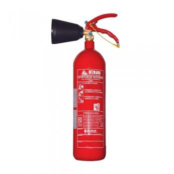 Extintor CO2 2 kg (c/ difusor) Bili Eficácia 34B