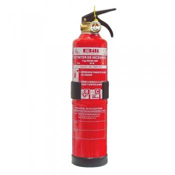 Extintor de Pó ABC Portátil de 1kg Bili