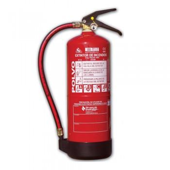 Extintor de Pó ABC Portátil de 6kg Bili Eficácia 27A - 183B