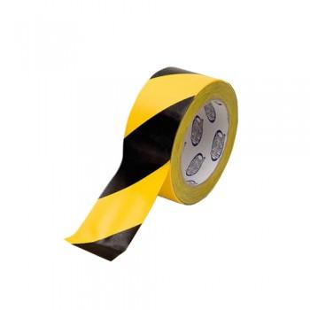 Fita Autocolante Reflectora Amarela/Preta 5x45,7 cm