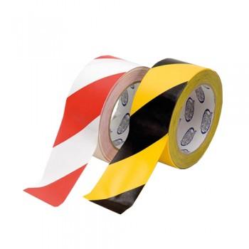 Fita Autocolante Reflectora Vermelha/Branca 5x45,7 cm