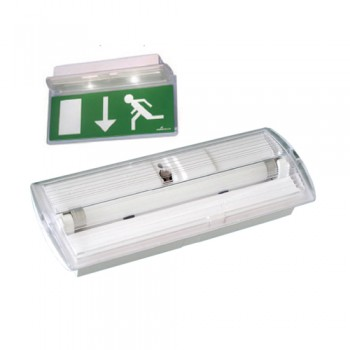 Luminária Emergência Cronus 1x6 NM 1H30 (6W)
