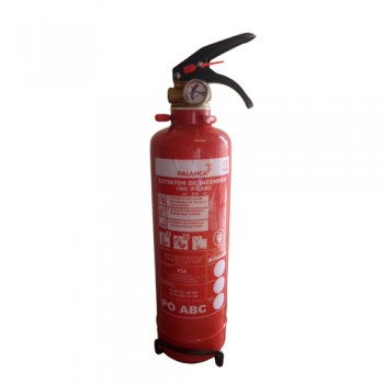 Extintor Pó Químico ABC 1 Kg Eficácia 8A-21B e C Palanca
