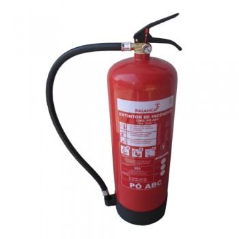 Extintor Pó Químico ABC 12 Kg Eficácia 55A-233B e C Palanca