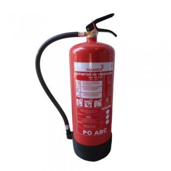 Extintor Pó Químico ABC 9 Kg Eficácia 34A-183B e C Palanca