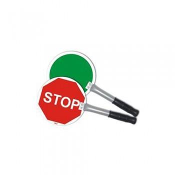 """Raquete de Sinalização """"STOP"""" ET1 em Alumínio de 200x2 mm"""