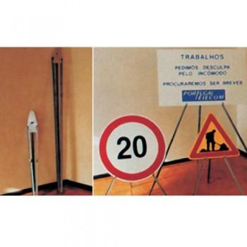 Tripé Articulado 1 Metro P9526 p/ Sinais Trânsito 400, 600 e 700 mm