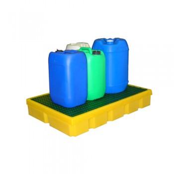 Bacia Retenção 100 Lts Amarelo 990x645x145 mm LB PFCP 100