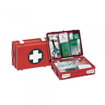 Caixa Primeiros Socorros CPS042 (T/Medis) c/ Suporte de Parede