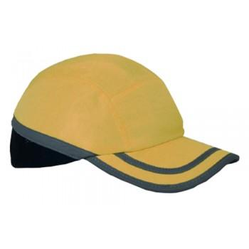 Boné Anti-Golpes Bump Cap GA-Amarelo/Preto Palanca
