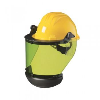 Viseira p/ Electricidade 436D c/ Capacete 5-RS Amarelo PALANCA
